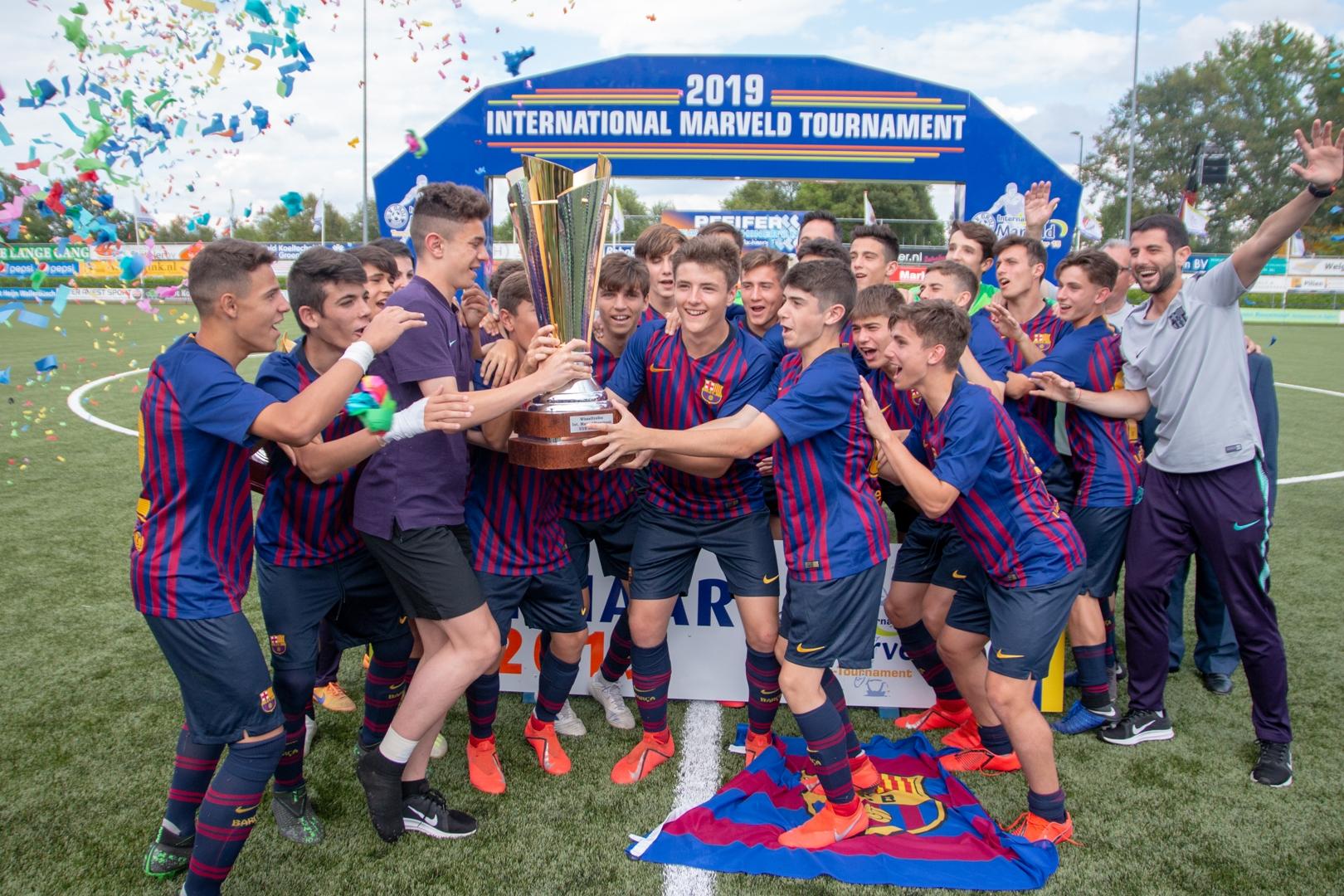 Marveld Tournament 2019 - Celebrations winner FC Barcelona