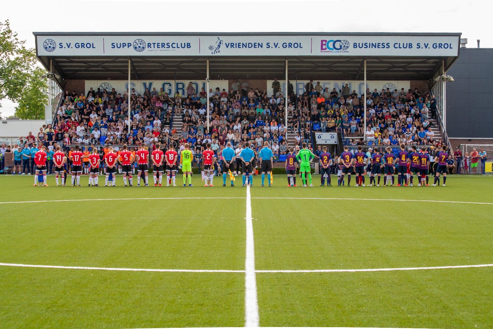 Marveld Tournament 2019 - Presentation Final - FC Barcelona vs PSV