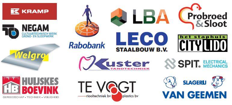 Marveld Tournament 2019 - Team sponsors