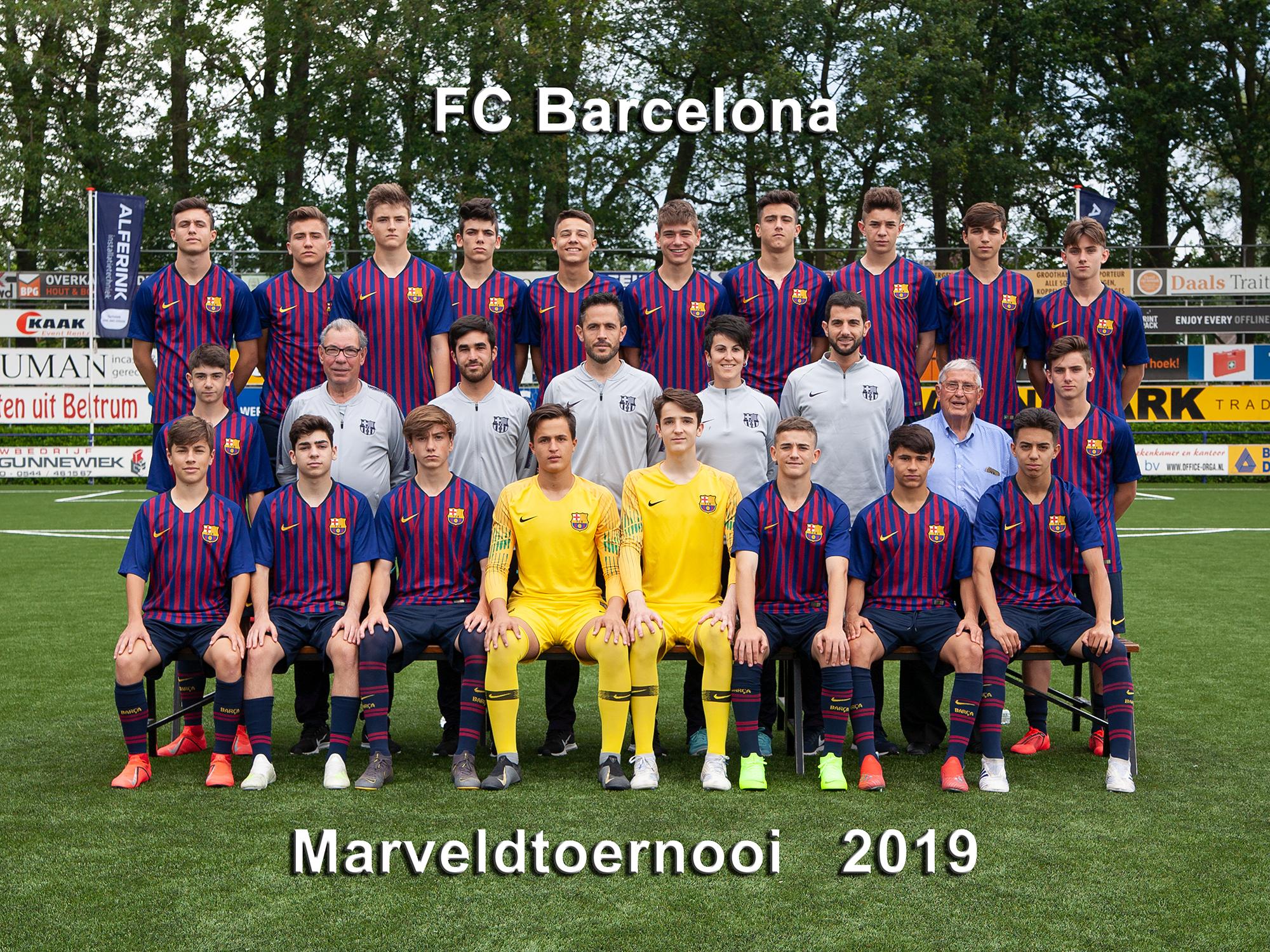 Marveld Tournament 2019 - Team FC Barcelona