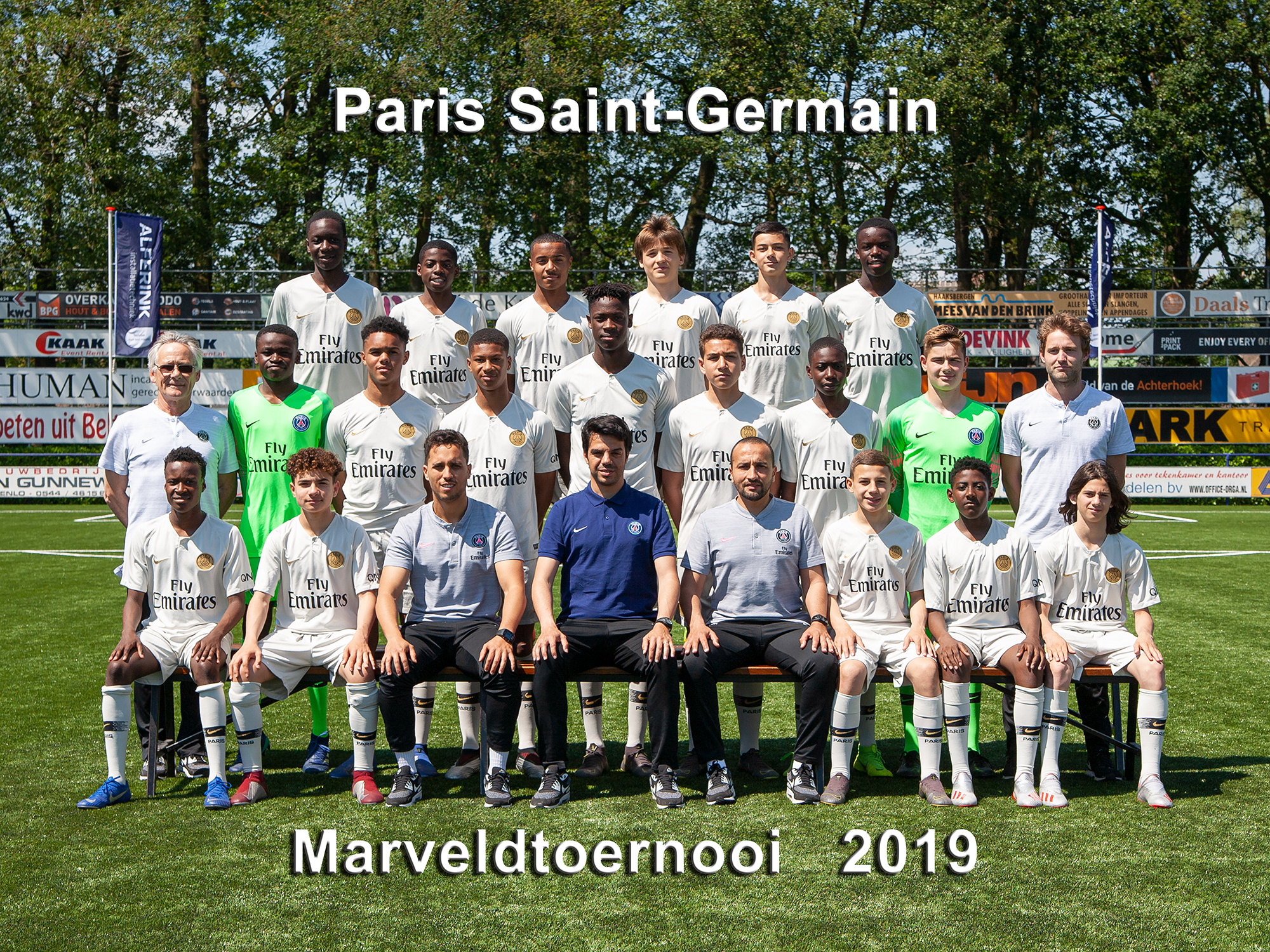 Marveld Tournament 2019 - Team Paris Saint-Germain