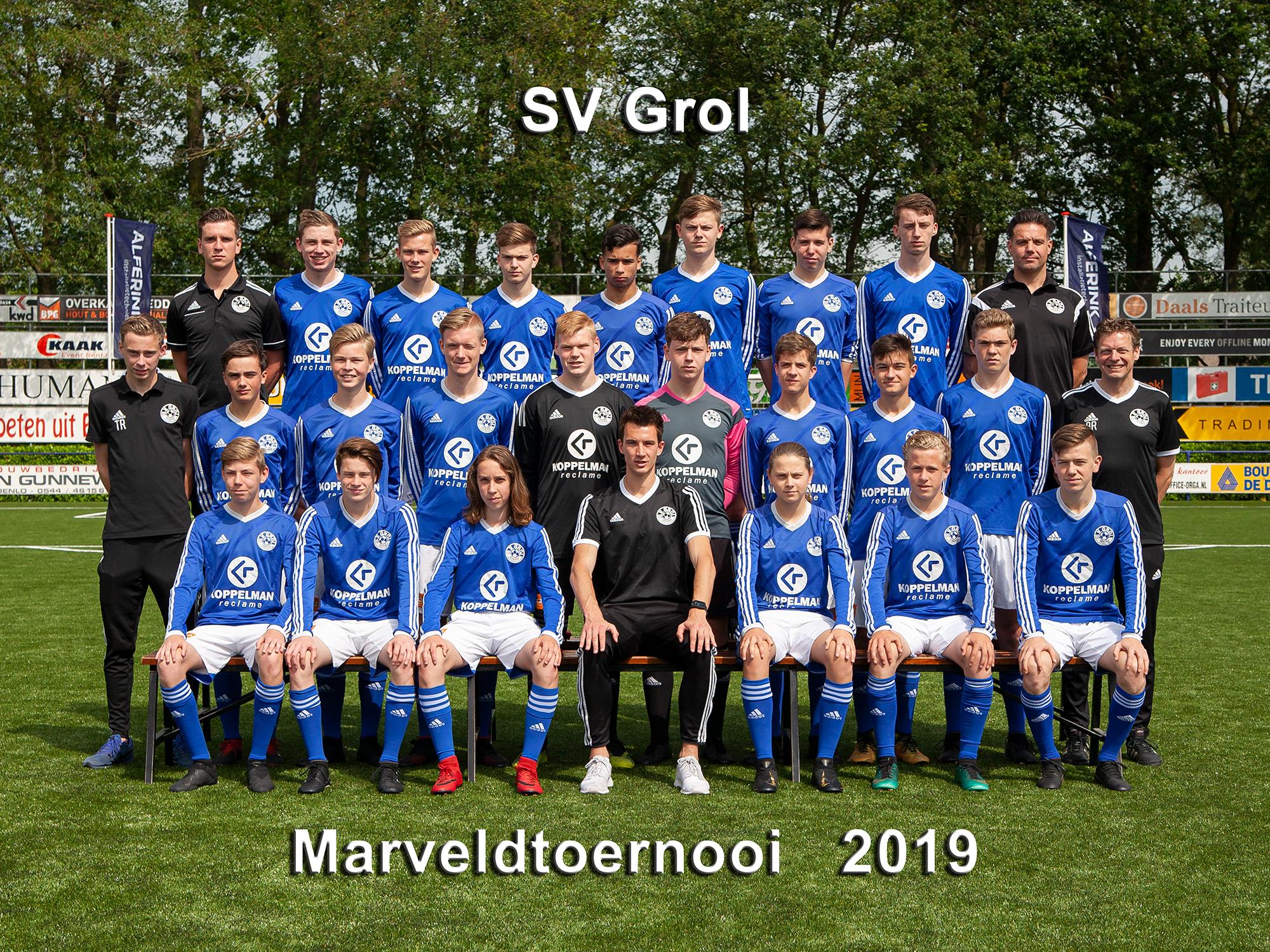 Marveld Tournament 2019 - Team SV Grol