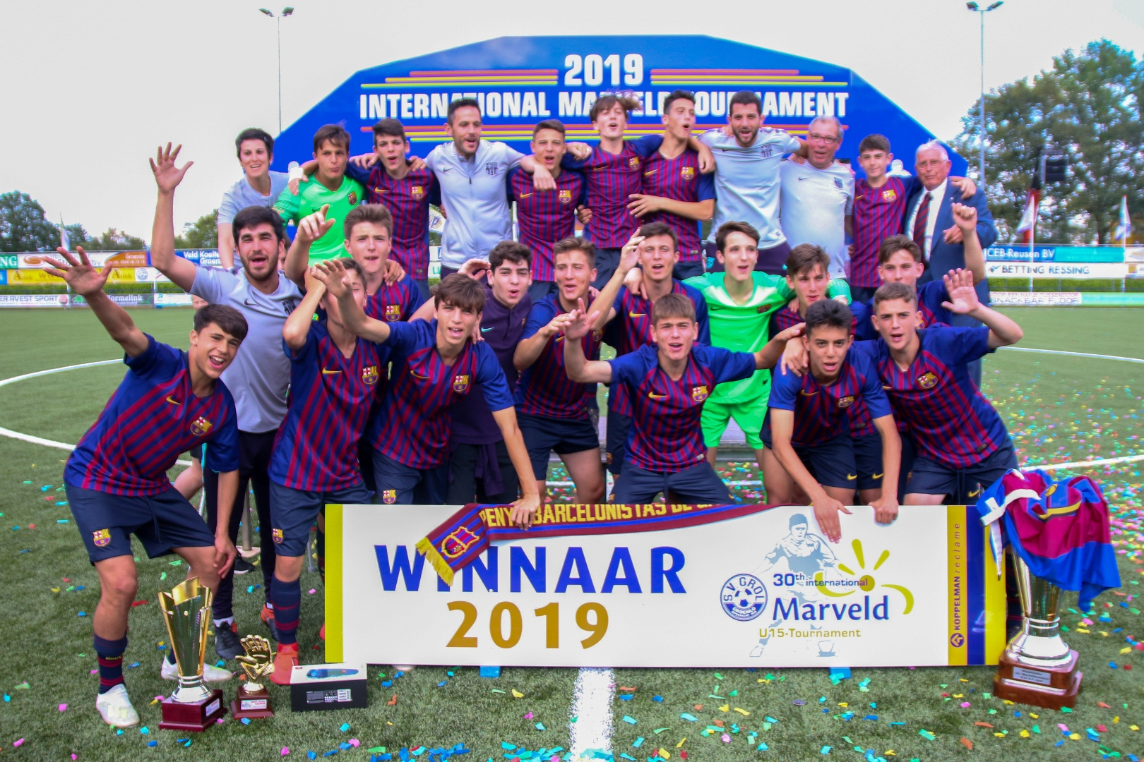 Marveld Tournament 2019 - Winners FC Barcelona