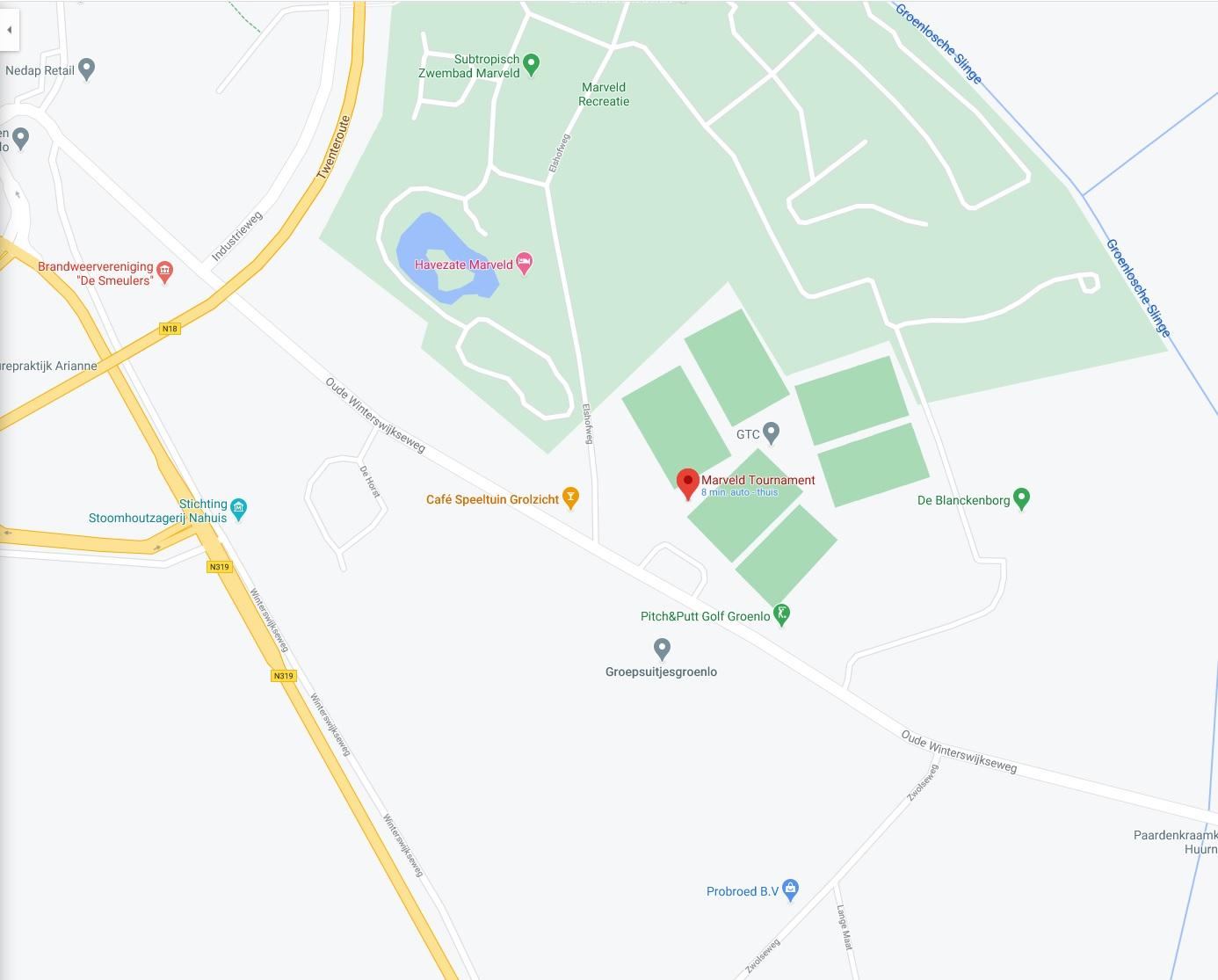 Route description and parking information