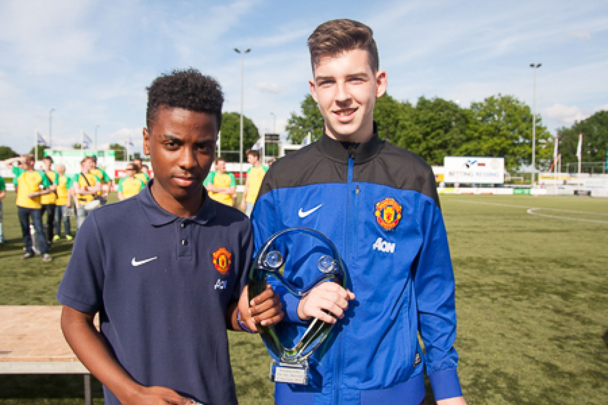 Marveld Tournament 2014 - Fair Play Award Manchester United