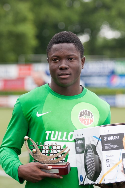 Marveld Tournament 2015 - Best Goalkeeper Stephen Sarkodie of Right To Dream Ghana