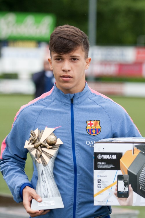 Marveld Tournament 2015 - Topscorer Temenuzkhov Mihaylov of FC Barcelona