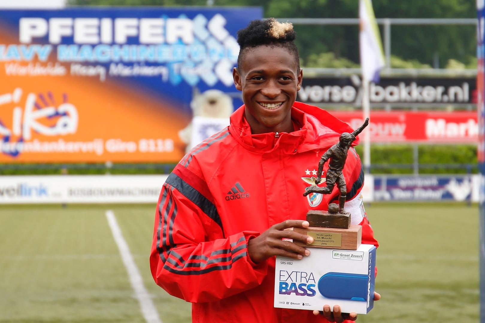 Marveld Tournament 2016 - Best Player Umaro Embalo of SL Benfica