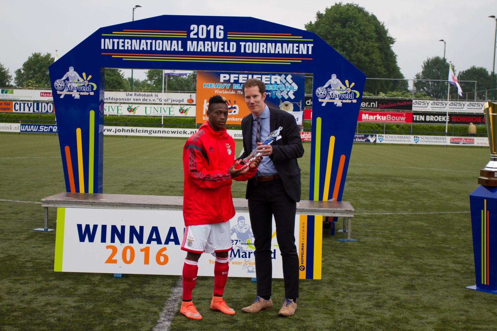 Marveld Tournament 2016 - Fair Play Award SL Benfica