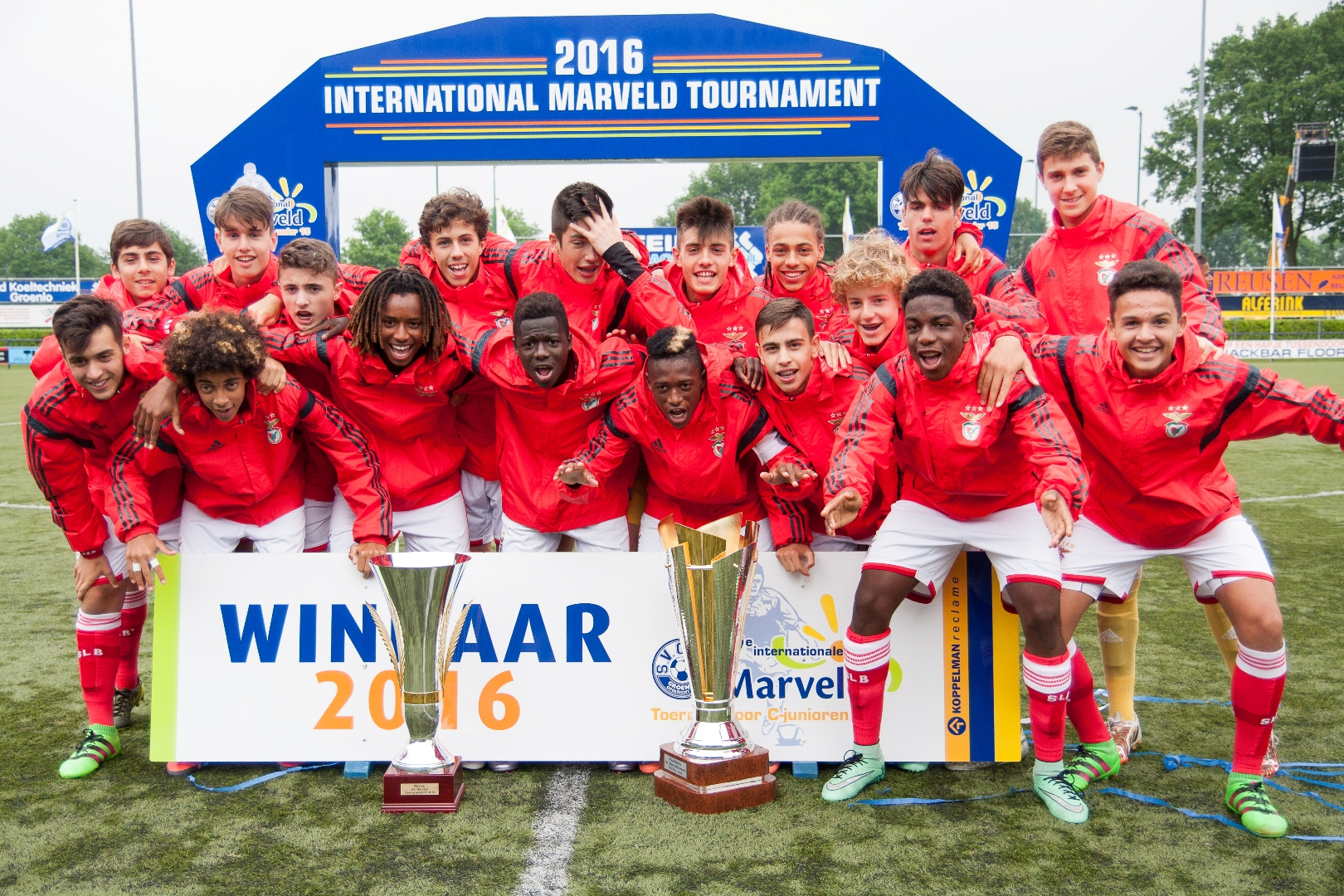 Marveld Tournament 2016 - Winners SL Benfica