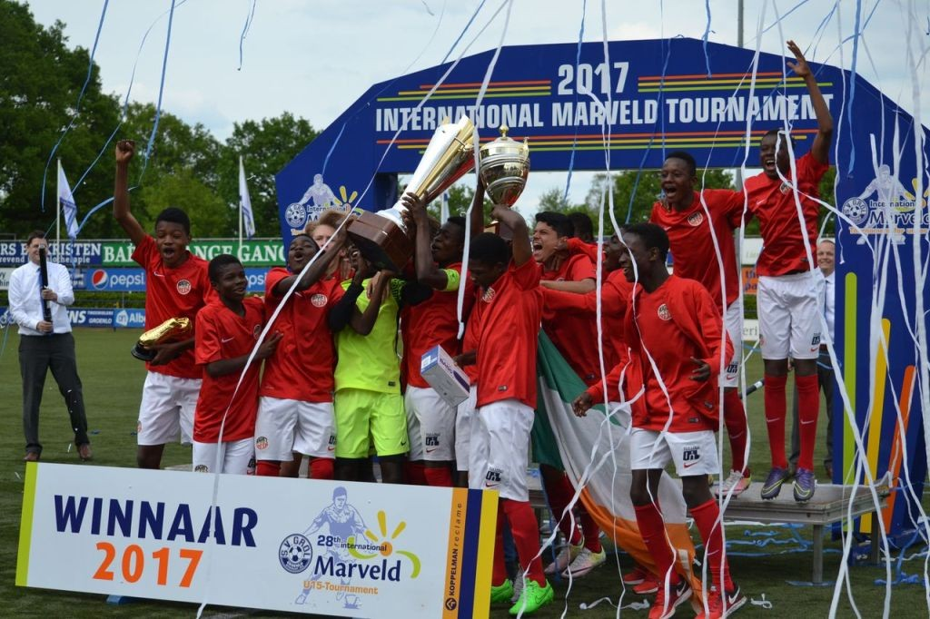 Marveld Tournament 2017 - Winners Right To Dream