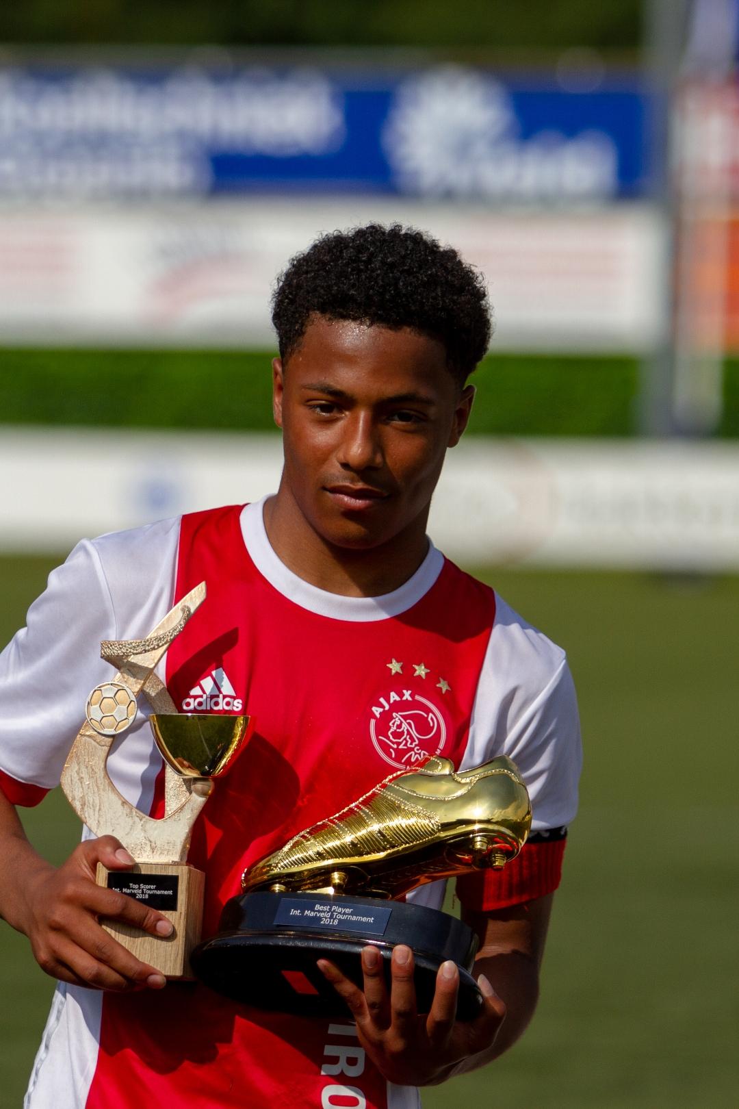 Marveld Tournament 2018 - Best Player And Topscorer Dillon Hoogewerf of Ajax
