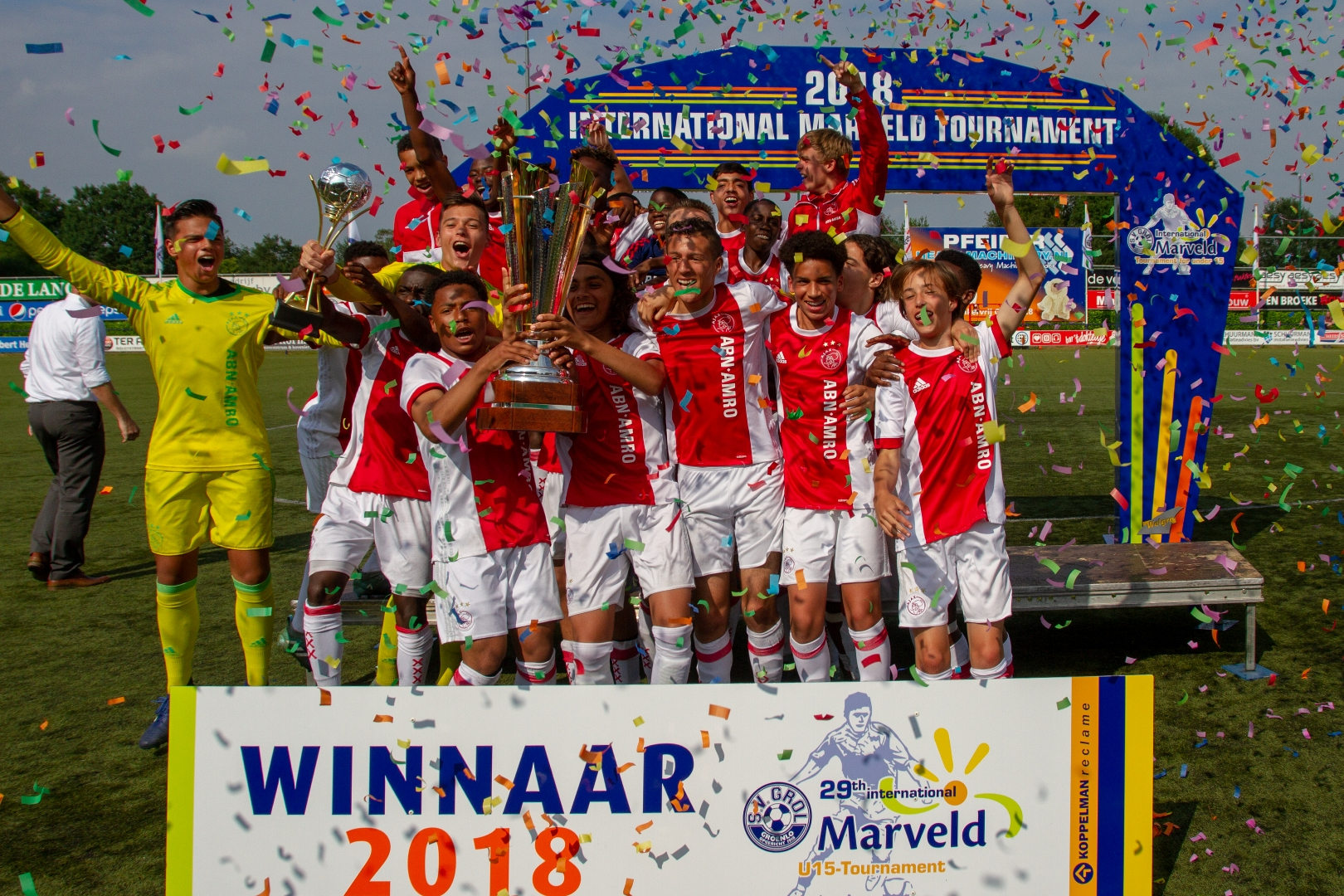 Marveld Tournament 2018 - Winners Ajax