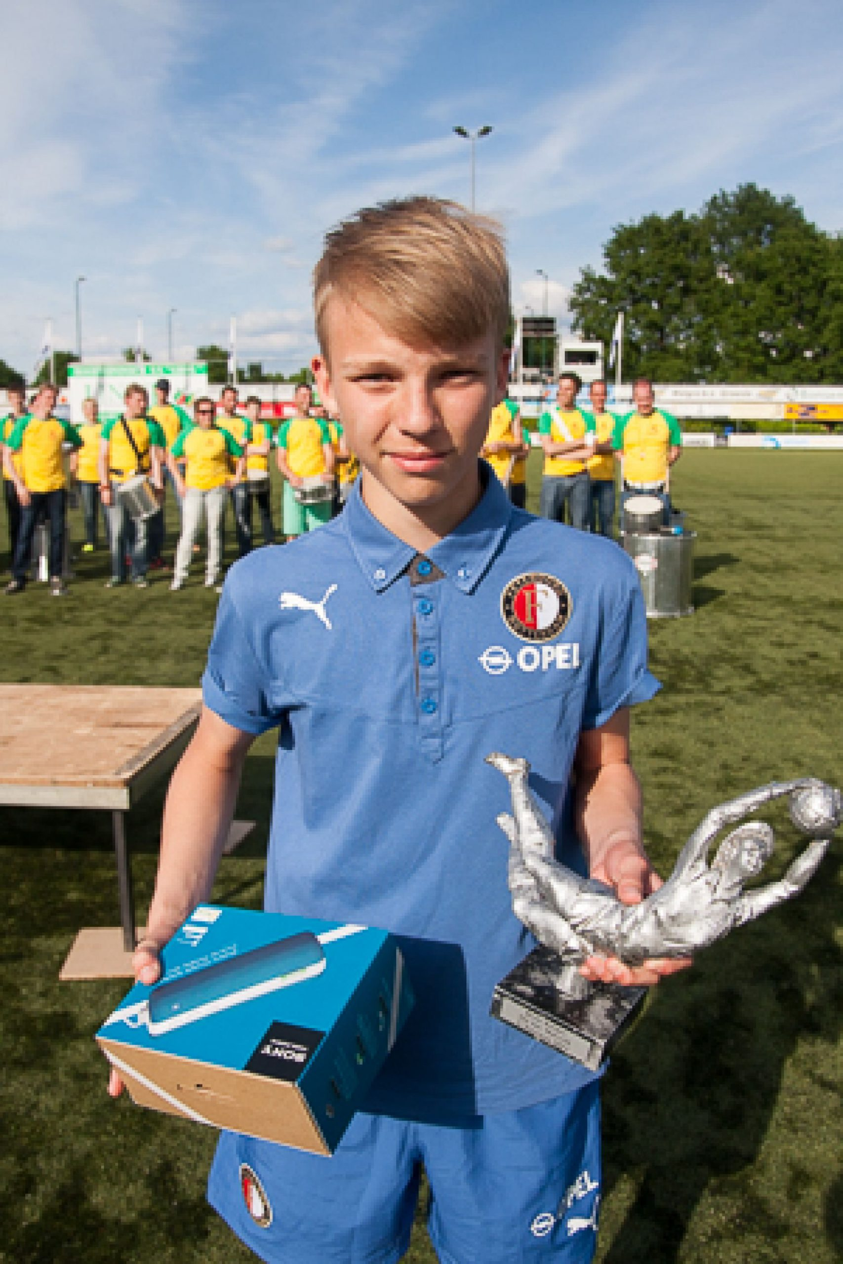 Marveld Tournament 2014 - Best Goalkeeper Wouter Beukers of Feyenoord