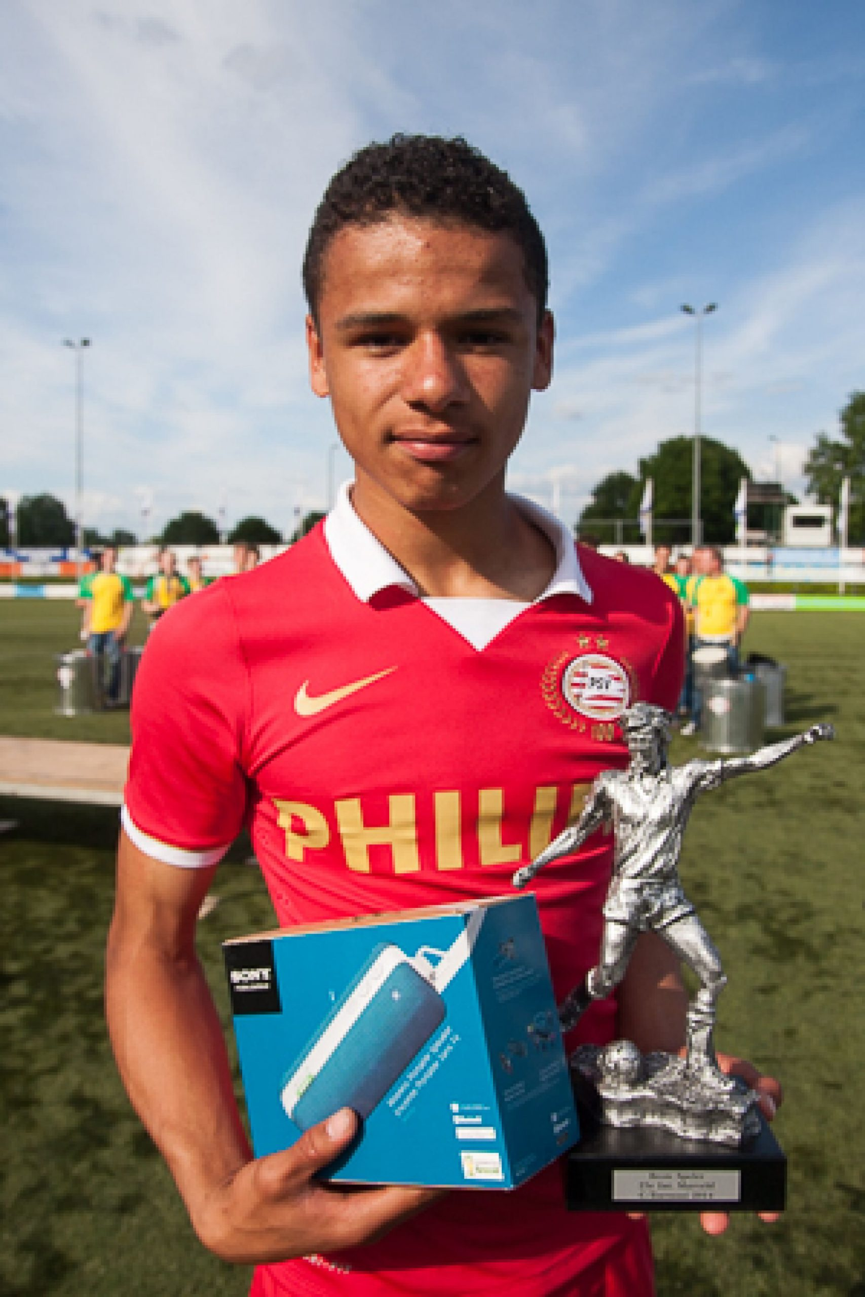 Marveld Tournament 2014 - Best Player Armando Obispo of PSV