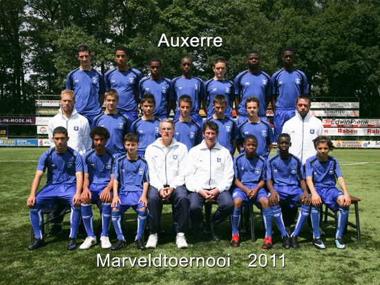 Marveld Tournament 2011 - Team AJ Auxerre
