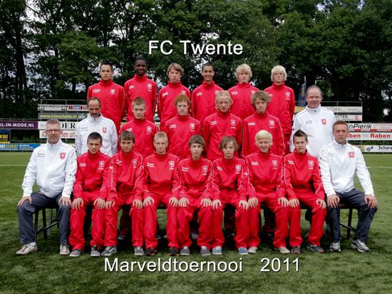 Marveld Tournament 2011 - Team FC Twente