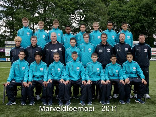 Marveld Tournament 2011 - Team PSV