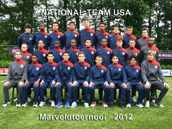 Marveld Tournament 2012 - National Team USA