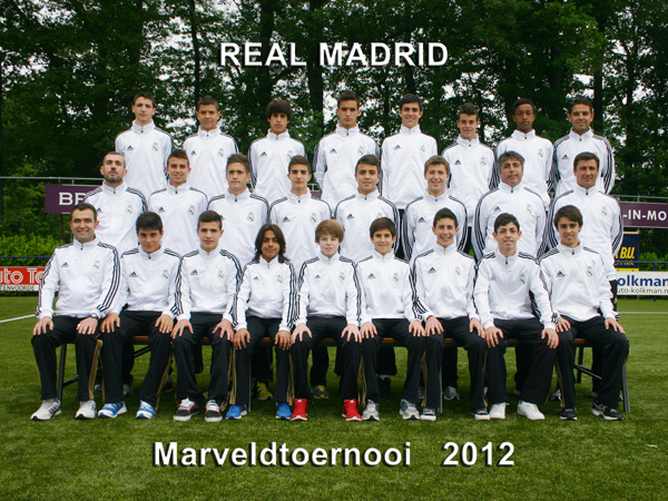 Marveld Tournament 2012 - Team Real Madrid