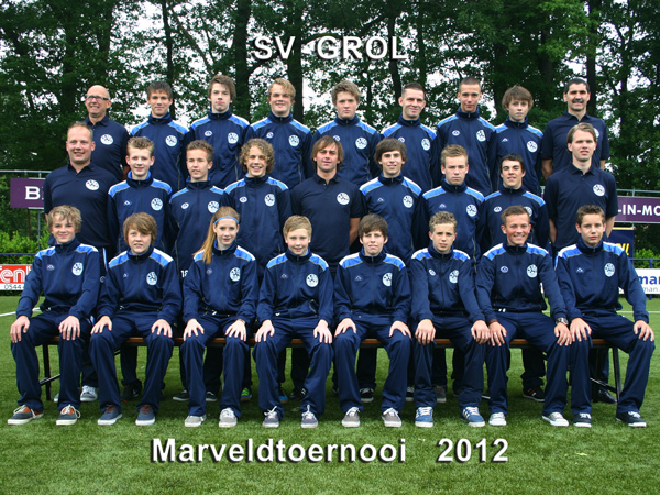 Marveld Tournament 2012 - Team SV Grol