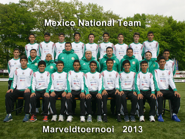 Marveld Tournament 2013 - Mexico National Team
