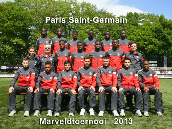 Marveld Tournament 2013 - Team Paris Saint-Germain