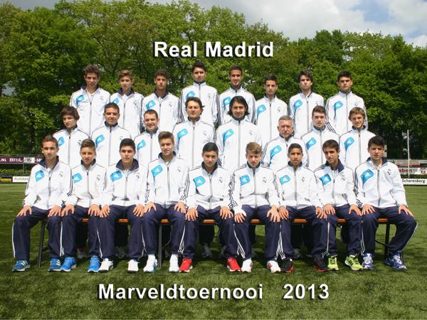 Marveld Tournament 2013 - Team Real Madrid
