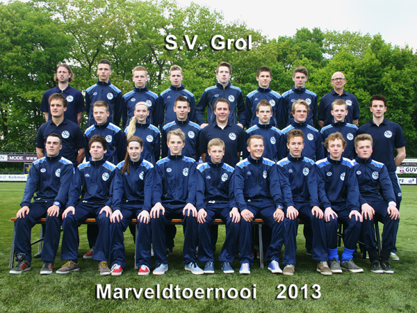 Marveld Tournament 2013 - Team SV Grol