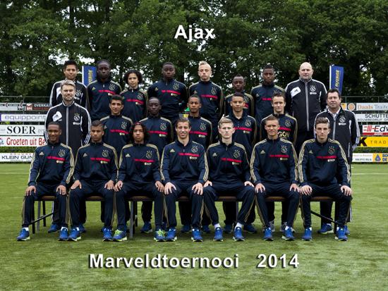 Marveld Tournament 2014 - Team Ajax