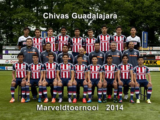 Marveld Tournament 2014 - Team Chivas Guadalajara