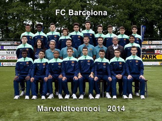 Marveld Tournament 2014 - Team FC Barcelona