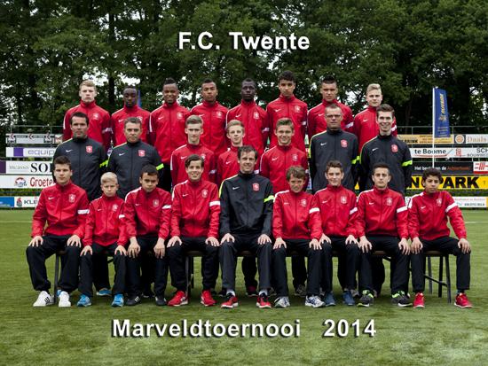 Marveld Tournament 2014 - Team FC Twente