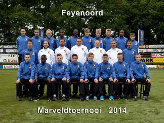 Marveld Tournament 2014 - Team Feyenoord