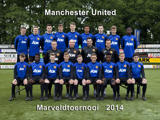 Marveld Tournament 2014 - Team Manchester United