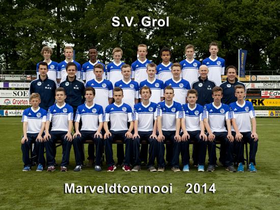 Marveld Tournament 2014 - Team SV Grol