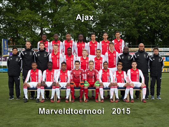 Marveld Tournament 2015 - Team Ajax