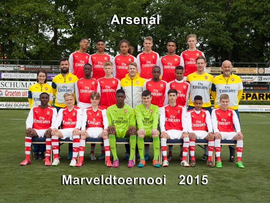 Marveld Tournament 2015 - Team Arsenal