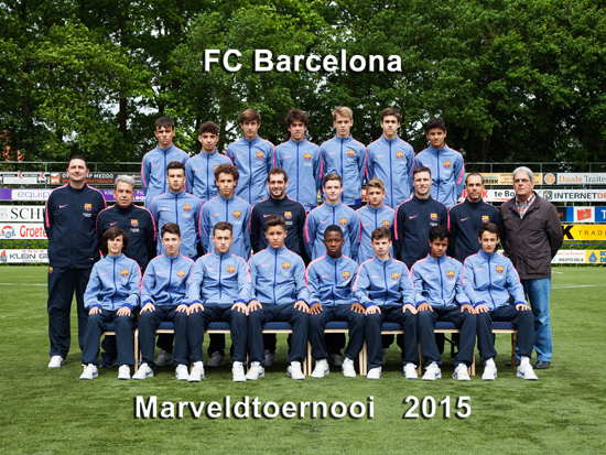 Marveld Tournament 2015 - Team FC Barcelona