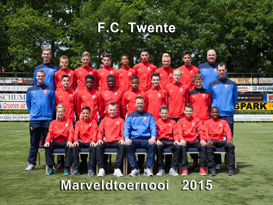 Marveld Tournament 2015 - Team FC Twente