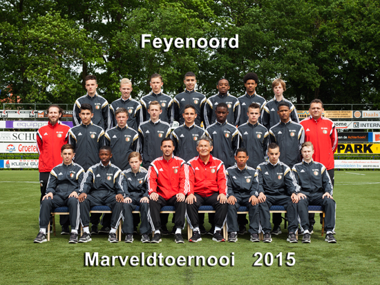 Marveld Tournament 2015 - Team Feyenoord