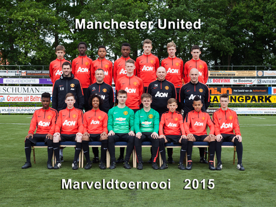 Marveld Tournament 2015 - Team Manchester United