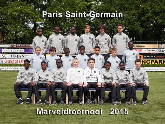 Marveld Tournament 2015 - Team Paris Saint-Germain