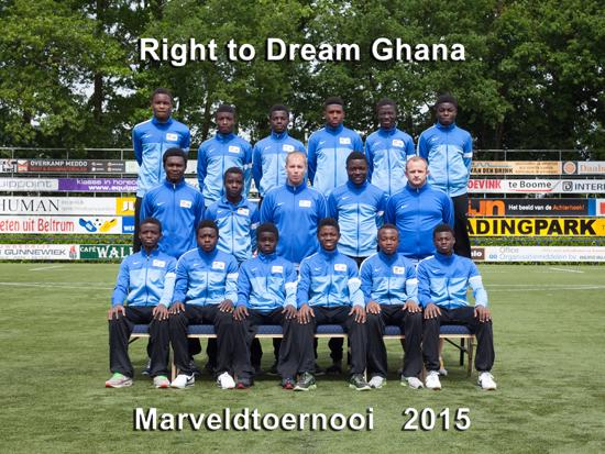 Marveld Tournament 2015 - Team Right to Dream Ghana