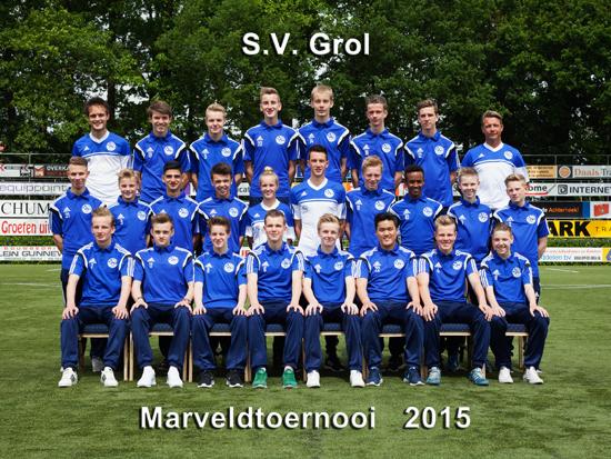 Marveld Tournament 2015 - Team SV Grol