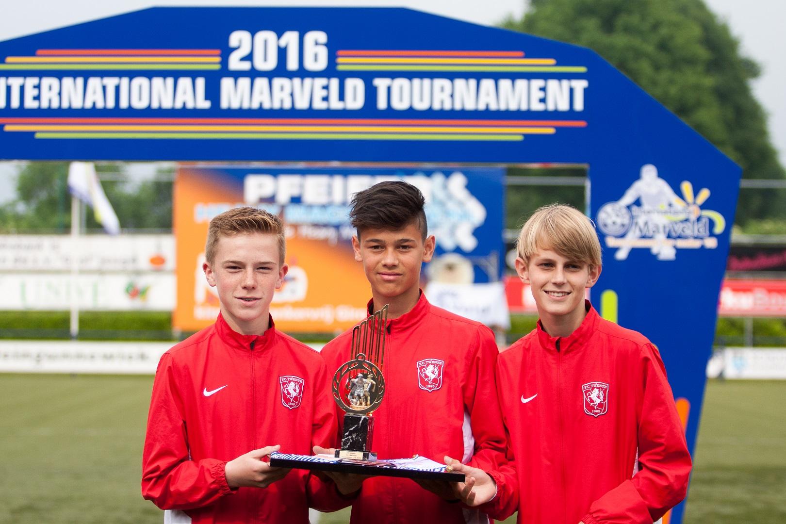 Marveld Tournament 2016 - Daan Rots En Juul Stokkers Van FC Twente