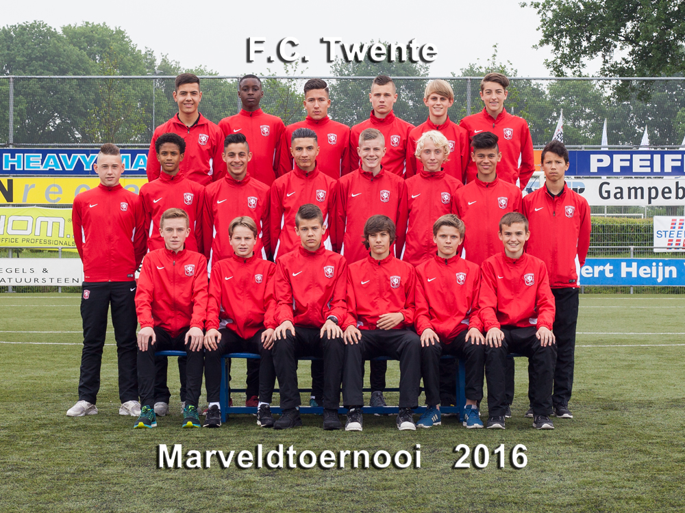 Marveld Tournament 2016 - Team FC Twente