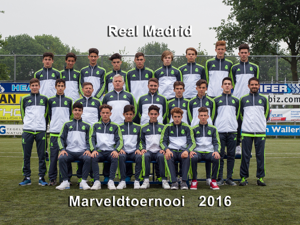 Marveld Tournament 2016 - Real Madrid