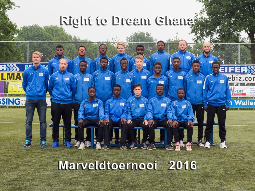 Marveld Tournament 2016 - Right To Dream Ghana