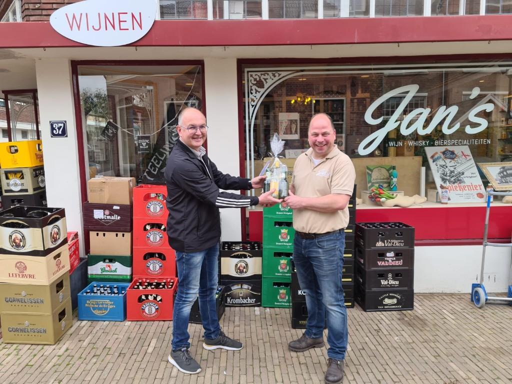 Marveld Tournament - Borrelpakket voor sponsor Jan's Wijn, Whiskey en Bierspecialiteiten